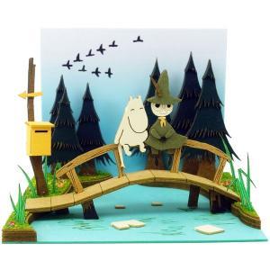 みにちゅあーとキット ムーミンminiシリーズ ムーミン谷の川[さんけい]《09月予約※暫定》|amiami