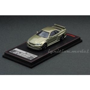 1 64 Nismo R34 GT-R Z-tune Green Metallic イグニッションモデル の商品画像|ナビ