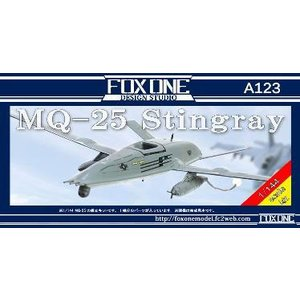 1/144 MQ-25 スティングレイ レジンキット[フォックスワンデザインスタジオ]《01月予約》