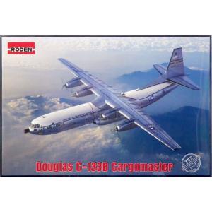 1/144 米ダグラスC-133Bカーゴマスター大型輸送機・改良型 プラモデル[ローデン]《01月予...