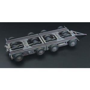 1/144 クレメイヤー 4軸トレーラー レジンキット[BRENGUN]《01月予約》
