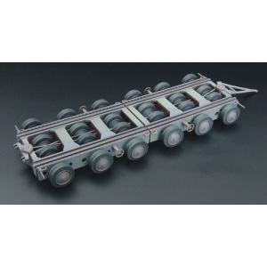 1/144 クレメイヤー 80t 重トレーラー レジンキット[BRENGUN]《01月予約》