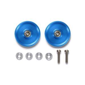 HG 19mmオールアルミベアリングローラーセット (ブルー)(再販)[タミヤ]《03月予約》