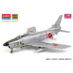 1/48 航空自衛隊 F-86D セイバードッグ プラモデル[アカデミー/モノクローム]《07月予約》