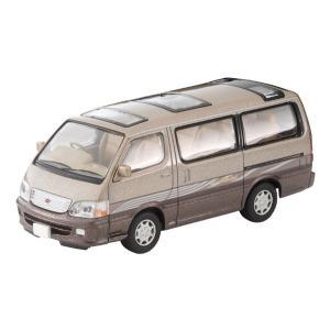 トミカリミテッドヴィンテージ ネオ LV-N216c トヨタ ハイエースワゴン スーパーカスタムリミテッド(ベージュ/茶)[トミーテック]《01月予約》|amiami