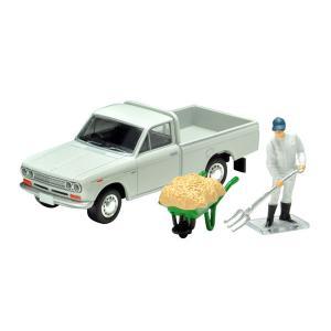 トミカリミテッドヴィンテージ LV-195c ダットサン トラック 1300デラックス(白)フィギュア付き[トミーテック]《03月予約》|amiami