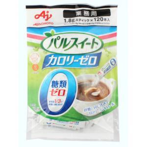 味の素 パルスイートカロリーゼロスティック 1.8g×120|amicashop