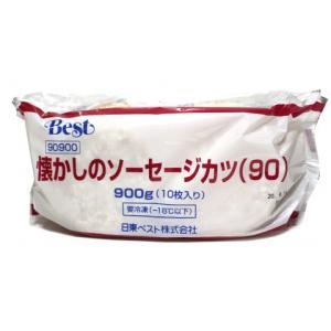【冷凍】 食べ応えのある厚みが特徴のソーセージカツです。幅広い世代に受け入れられ、また食べたいと思わ...