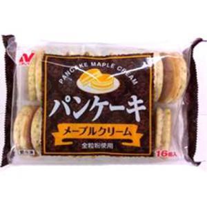 【奉仕品】ニチレイ パンケーキ(メープルクリーム) 448g(16個)