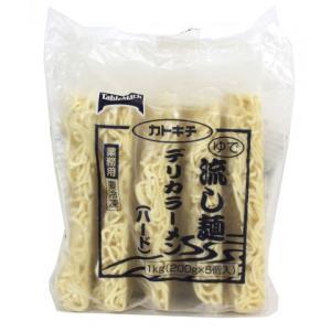 テーブルマーク 流し麺 デリカラーメン(ハード) 200g×5【夏商材・販売終了】|amicashop