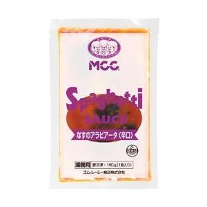 MCC スパゲティソース なすのアラビアータ辛口 160g