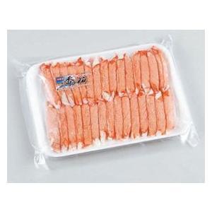 【冷凍】 ズワイ蟹むき身を再現したかに風味かまぼこです。自然解凍でお召し上がりください。手巻寿司、サ...