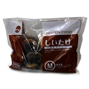 OM 冷凍椎茸(M) 500g|amicashop