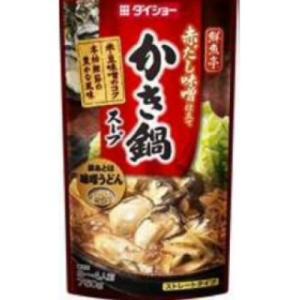 【秋冬商材】ダイショー 鮮魚亭 かき鍋スープ 750g|amicashop