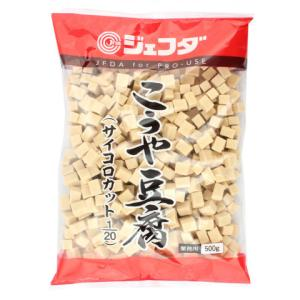 ジェフダ こうや豆腐サイコロカット1/20 500g|amicashop