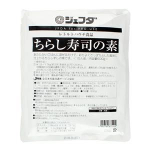 ジェフダ ちらし寿司の素 600g