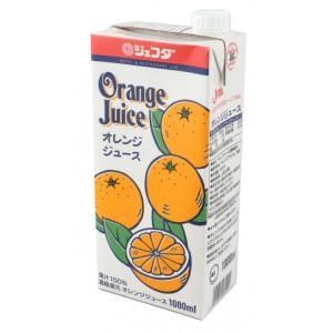 ジェフダ オレンジジュース 1L