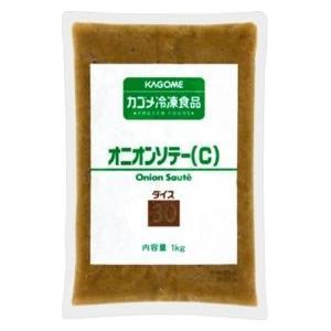 カゴメ 冷凍オニオンソテー(C)ダイス30 1kg|amicashop
