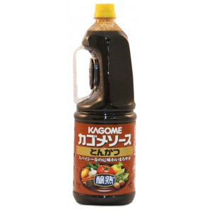 カゴメ 醸熟とんかつソース(手付) 1.8L