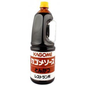 【奉仕品】カゴメ レストラン用とんかつソース(手付) 1.8L