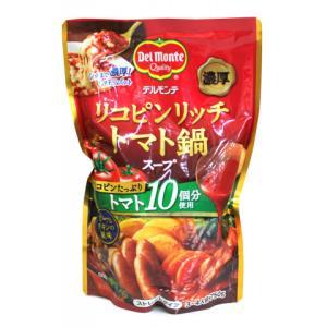 【10/4追加】【秋冬商材】キッコーマン リコピンリッチ トマト鍋スープ 750g|amicashop