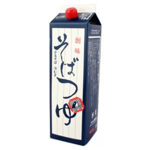創味食品 そばつゆ 1.8L|amicashop