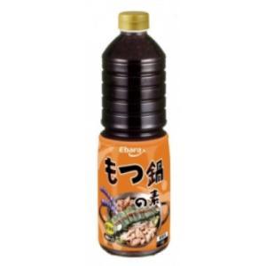 【秋冬商材】エバラ食品 もつ鍋の素 醤油味 1L|amicashop