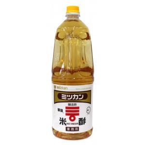 ミツカン 米酢(華撰)プラボトル 1.8L