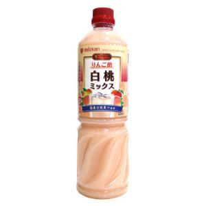 ミツカン ビネグイット りんご酢白桃ミックス 1000ml|amicashop