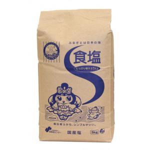塩事業センター 食塩 5kg amicashop