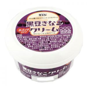 丸和油脂 黒豆きなこクリーム 135g|amicashop