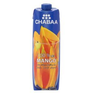 CHABAA 100%ミックスジュース マンゴー 1000mlの商品画像|ナビ