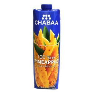 CHABAA ジュース パイナップル 1L|amicashop