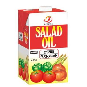 Jオイルミルズ サラダ油ベストブレンド 4.2kg|amicashop