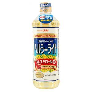 日清オイリオ キャノーラ油ヘルシーライト 900g