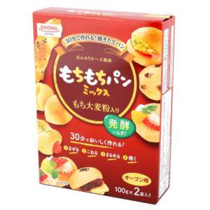 【7/3切替】昭和産業 もちもちパンミックス 100g×2 amicashop
