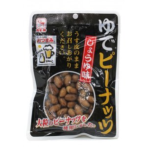 【7/18切替】カモ井 ゆでピーナッツ(しょうゆ味) 100g|amicashop