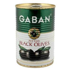 ギャバン ブラックオリーブ(種抜き) 170g amicashop