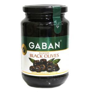 ギャバン ブラックオリーブスライス 160g|amicashop