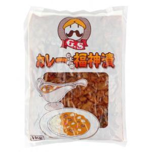 GSフード カレーのための福神漬 1kg|amicashop