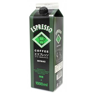 GSフード エスプレッソコーヒー(無糖) 1L|amicashop