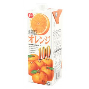 ジューシー オレンジ100% 1L