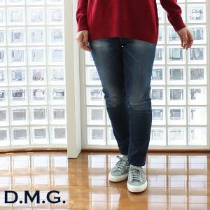 D.M.G ドミンゴ ストレッチ デニム スキニー パンツ  13-851D|amico-di-ineya