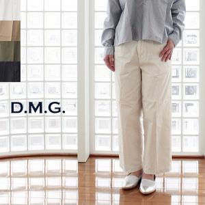 D.M.G DOMINGO ドミンゴ コットン タック バギー パンツ 13-870T|amico-di-ineya