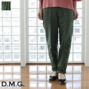D.M.G / DOMINGO ドミンゴ コットン バックサテン ベーカーパンツ 13-952T|amico-di-ineya