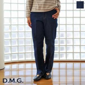 D.M.G (ドミンゴ) スタンダード デニム パンツ ストレート ブルーキャスト ストレッチ 14-0074C amico-di-ineya