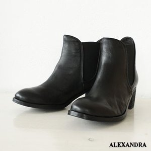 ALEXANDRA(アレキサンドラ)サイドゴアショートブーツ *15150-6140|amico-di-ineya