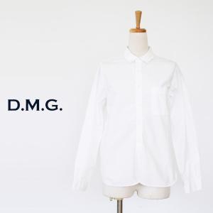D.M.G DOMINGO ドミンゴ コットン タイプライター 長袖シャツ 16-397|amico-di-ineya