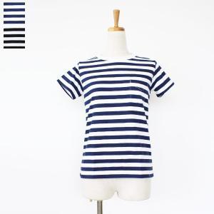 [メール便対応] DOMINGO ドミンゴ オリジナルボーダー ポケット付き Tシャツ 19-019N|amico-di-ineya