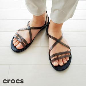 Crocs (クロックス) サンダル Women's isabella strappy Sandal 204915|amico-di-ineya